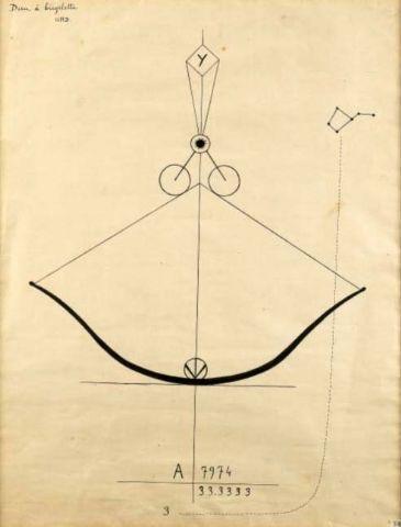 Georges RIBEMONT-DESSAIGNES. Dieu à bicyclette, 1920