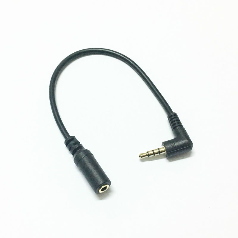 $0.76 (Buy here: https://alitems.com/g/1e8d114494ebda23ff8b16525dc3e8/?i=5&ulp=https%3A%2F%2Fwww.aliexpress.com%2Fitem%2FCabo-extensao-para-audio-3-5-90-Degree-macho-para-3-5-femea-0-1m-de%2F32787971603.html ) Cabo extensao para audio 3.5 90 Degree macho para 3.5 femea 0.1m de plugue Jack estereo para fone de ouvido de carro AUX M/F for just $0.76