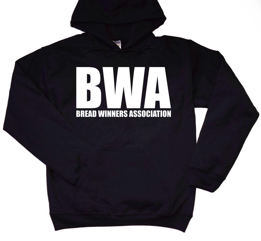 Kevin Gates Bread Winners Association BWA Hoodie Black Free Shipping