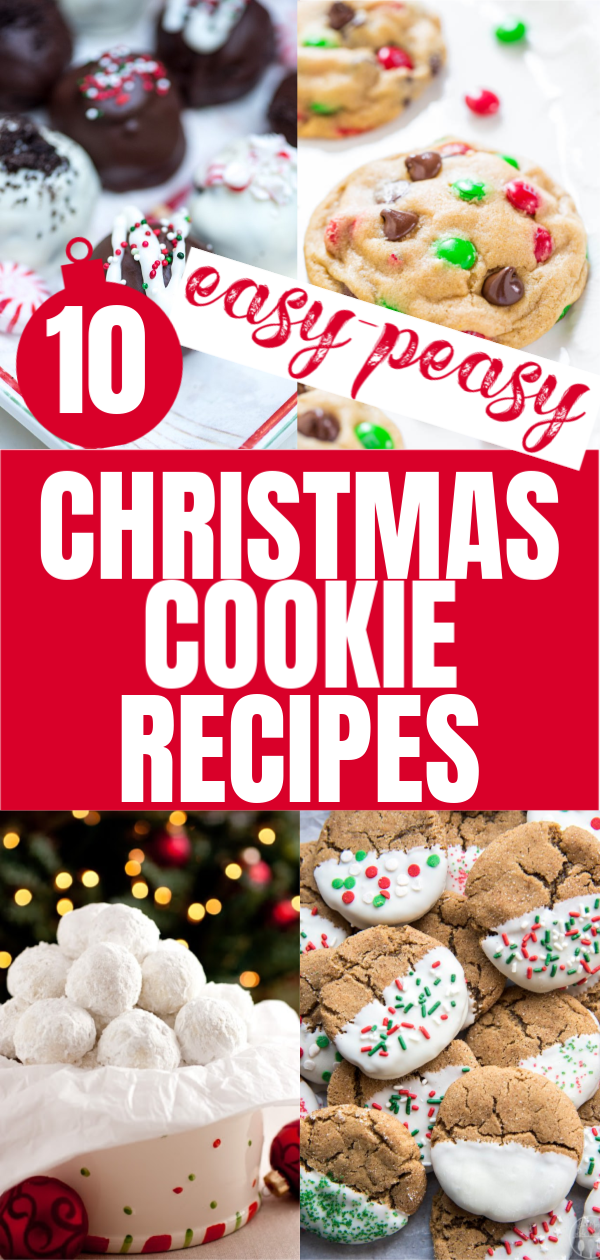 Easy Christmas Cookie Recipes That Anyone Can Make Cookies The