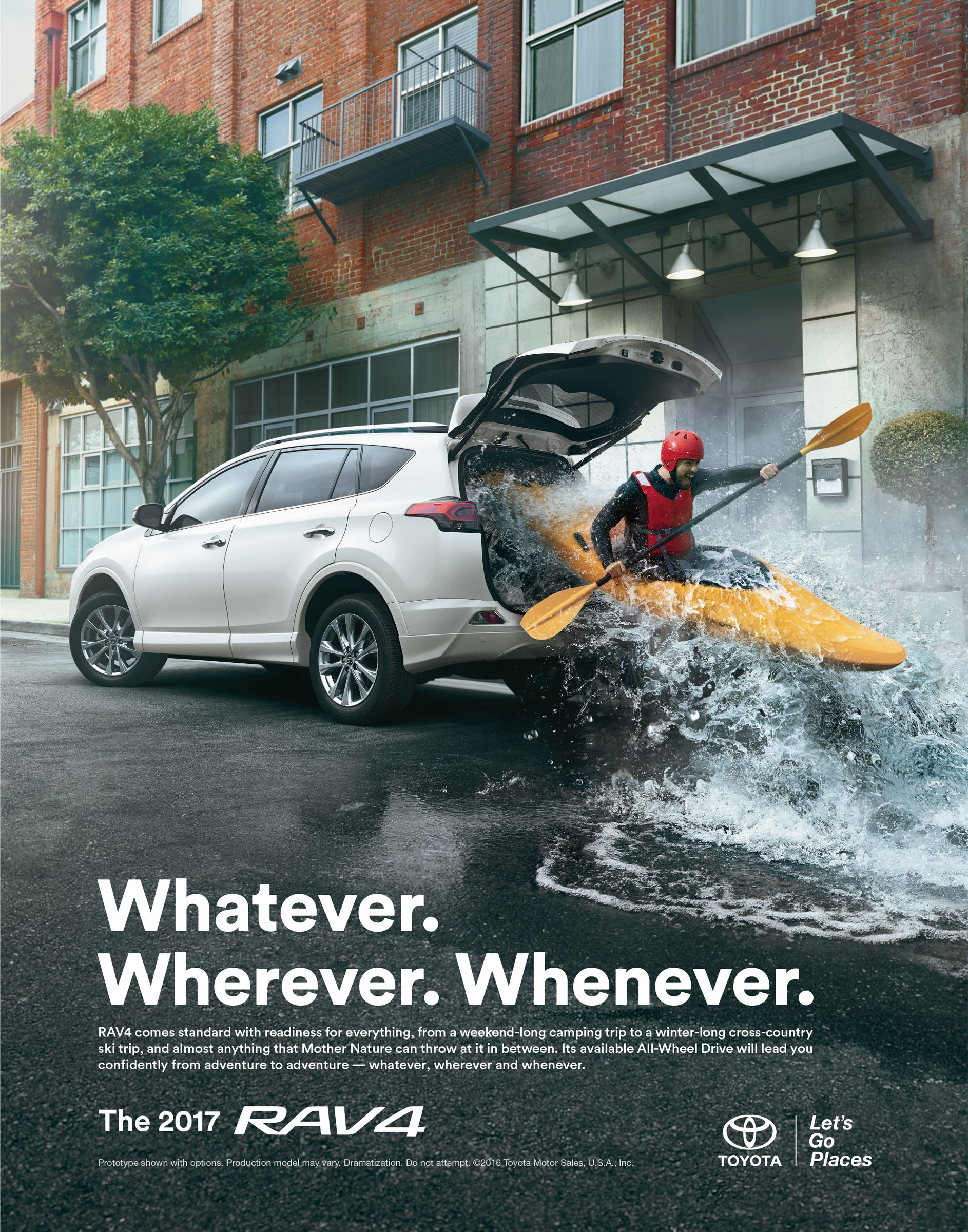 Toyota: Adventure anywhere | Ads of the World™ | Melhores