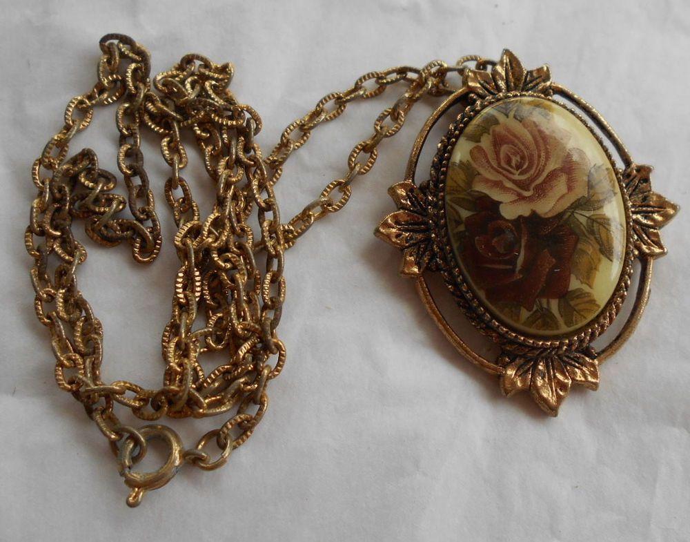 Vintage sarah coventry rose marie gold tone pendant necklace vintage sarah coventry rose marie gold tone pendant necklace victorian roses sarahcoventry pendant aloadofball Images