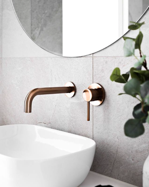Photo of Tailor-made Meir champagne basin tapware