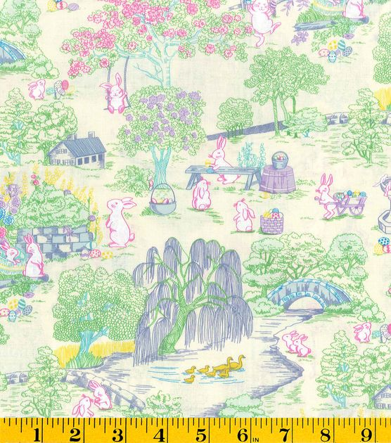 Holiday Inspirations Easter Toile