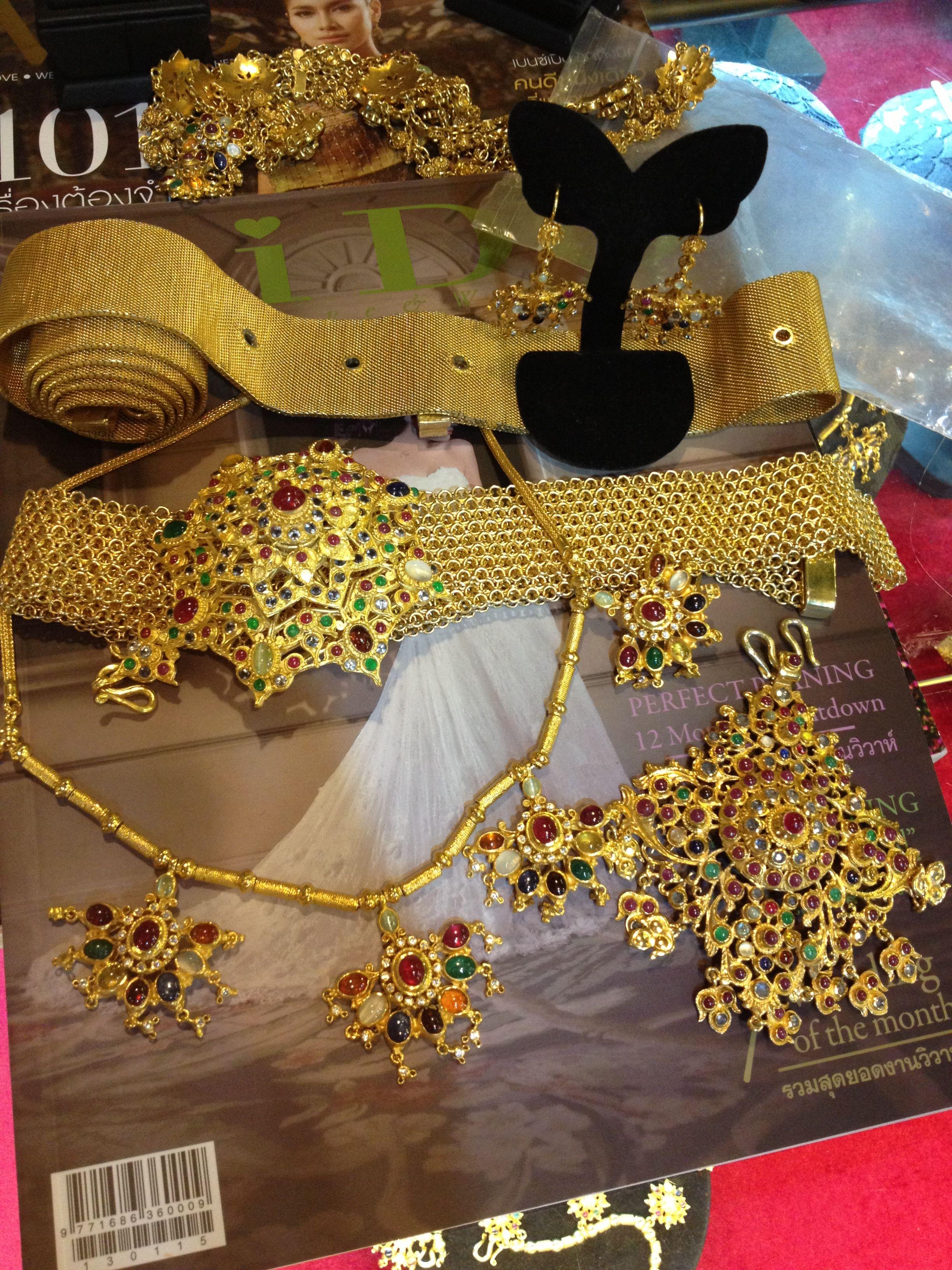 Thai antique jewelry Jewelry Pinterest Antique jewellery