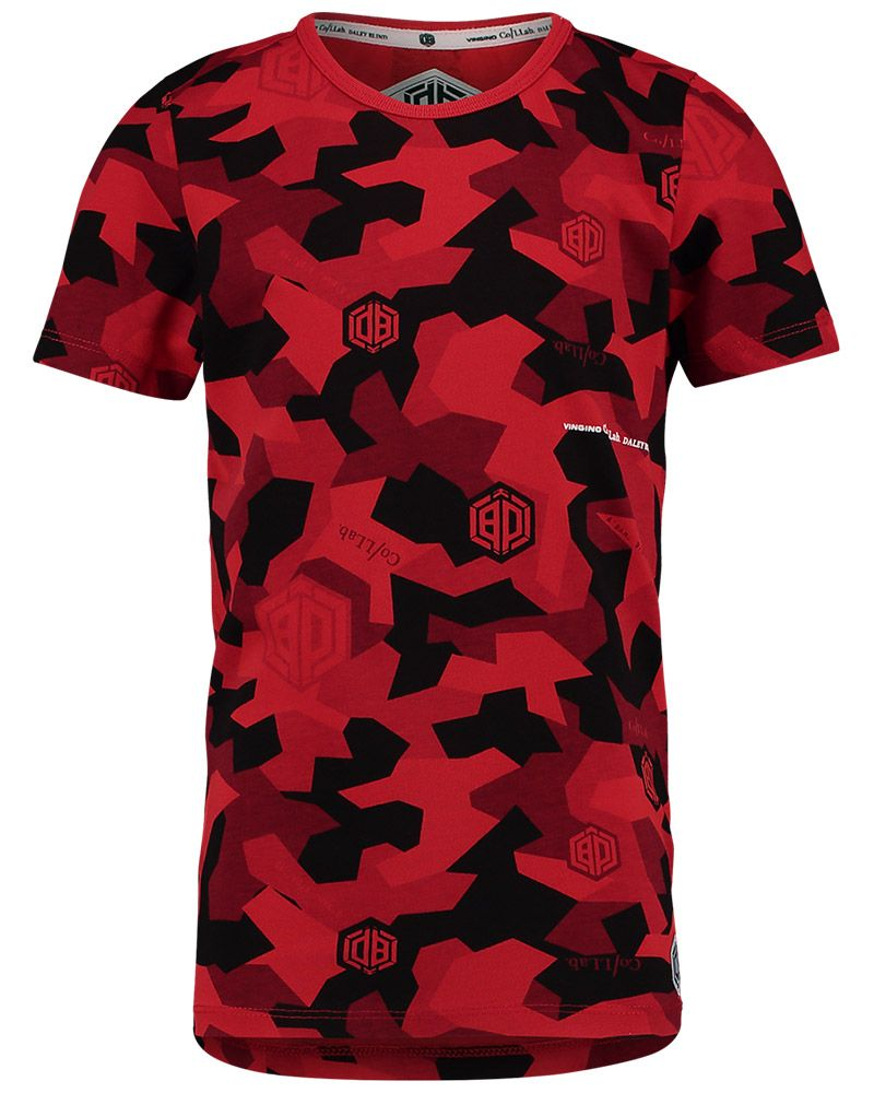 dd872f899430 #Vingino #By #Daley #Blind #Red #Camo #Print #Shirt #kids #Boys #Fashion  #Summer #2019 #Jongens #Kleding #Rood