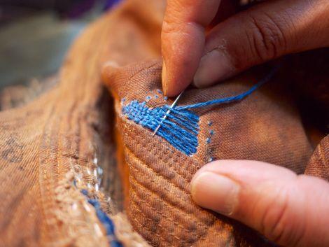 Repair | Make | Visible mending, Hand sewing, Darning