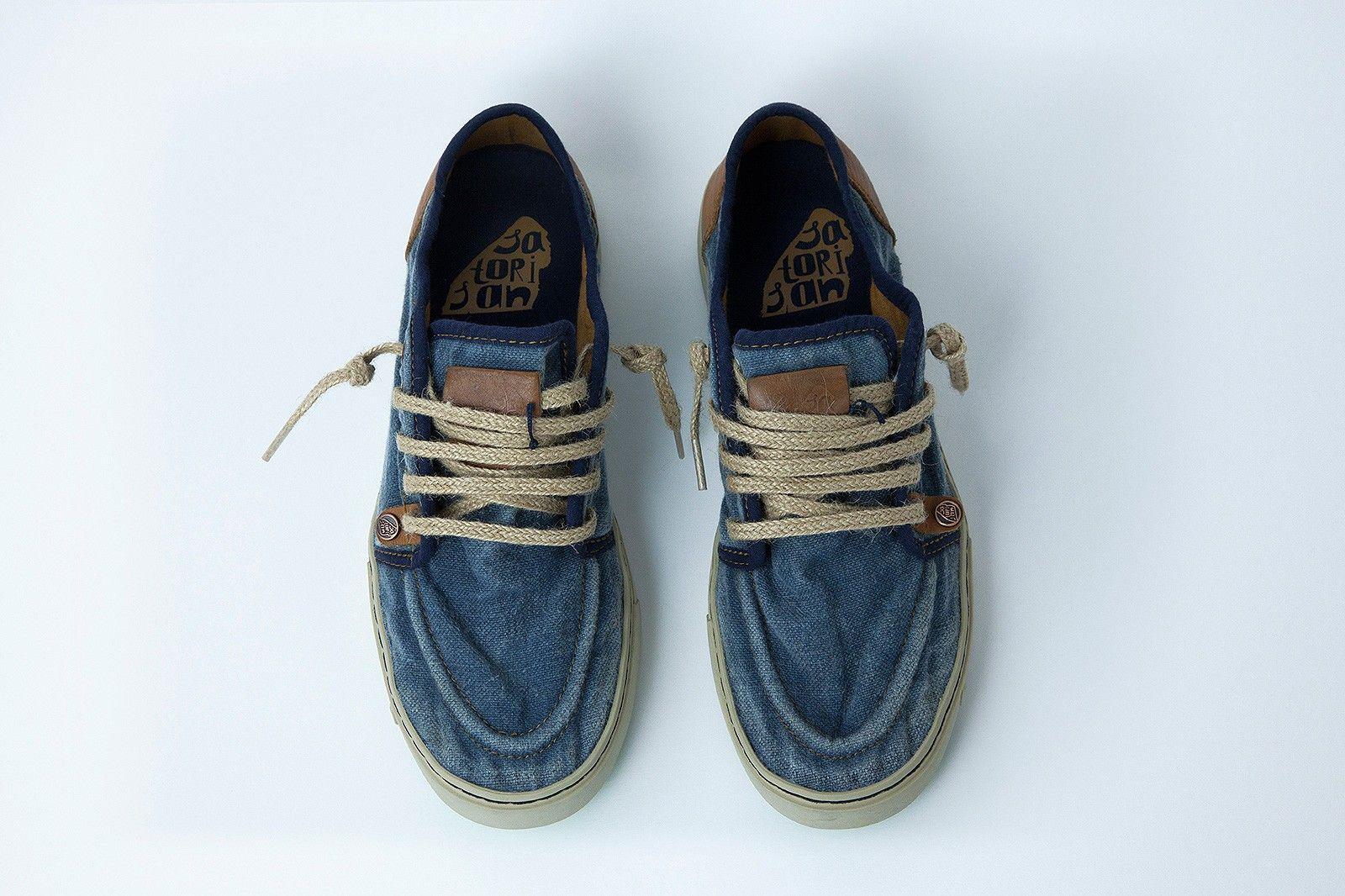 Vans Chukka Low Linen Grey Gum Skate Shoe