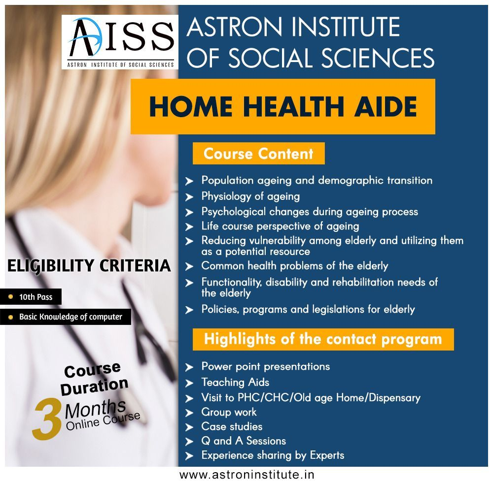 Continuity Of Care And HHA Home health aide, Home health