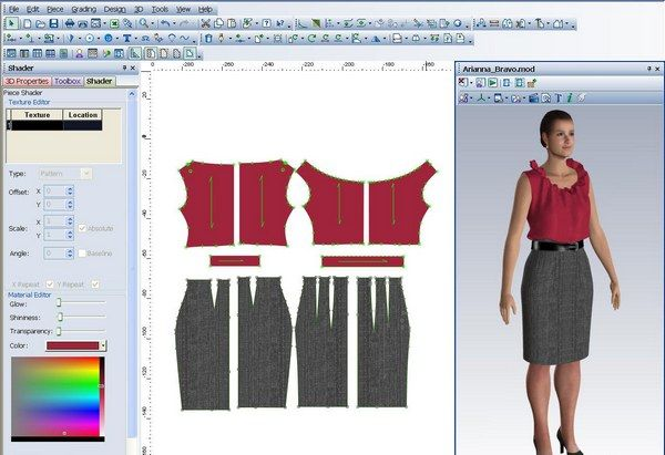 Fashion textile design software 62