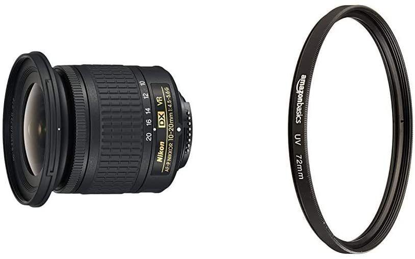 Amazon Com Nikon Af P Dx Nikkor 10 20mm F 4 5 5 6g Vr Lens Electronics In 2020 Vr Lens Nikon 10 Things