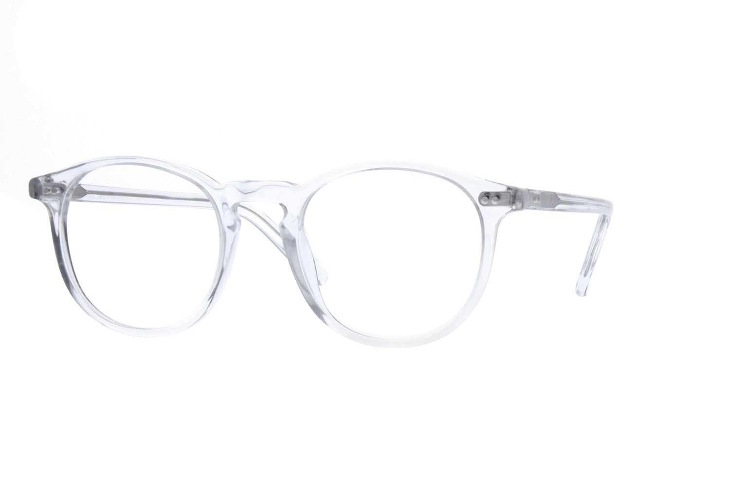33cdc32960 Zenni Round Prescription Eyeglasses Clear Plastic 4422423 in 2019 ...