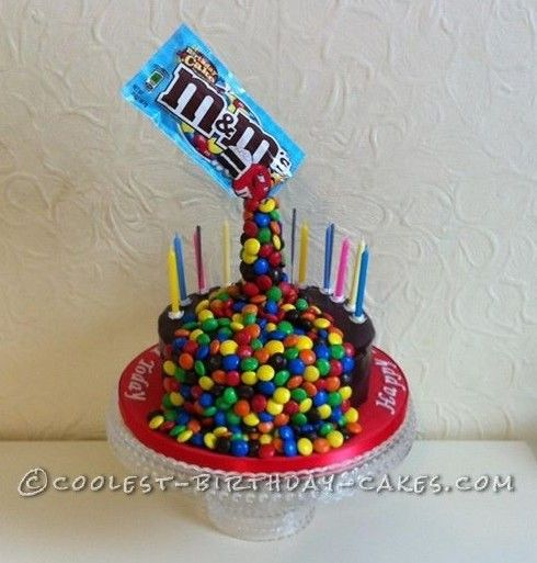 Cool AntiGravity MMs Birthday Cake Anti Gravity Anti Gravity - 11th birthday cake ideas