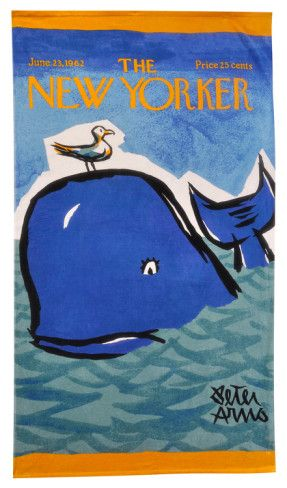 It S A Beach Towel Love It Peter Arnos The New Yorker Whale
