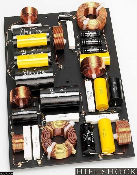 How was made the cs3.7 2 thiel ? Discover internal circuits of this thiel speakers - Hifi audio