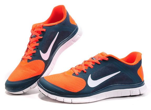fútbol americano prima Facilitar  Nike Free 4.0 V3 Mens Darkblue Orange 2013 Hot Sale #Blue #Womens #Sneakers  | Nike free, Nike, Nike shoes women