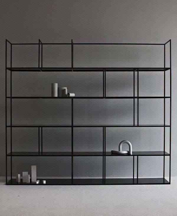 Moderno Estante Metal 5 Interior Pinterest Shelves Interiors