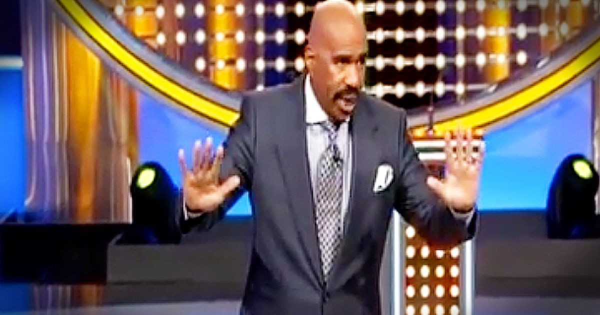 He's A Huge Star You Always See On TV But What He Does Before The Delectable Steve Harvey Poem