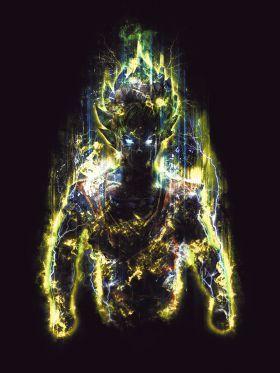 'The 150 Million Power Warrior' Poster Print by Barrett Biggers | Displate