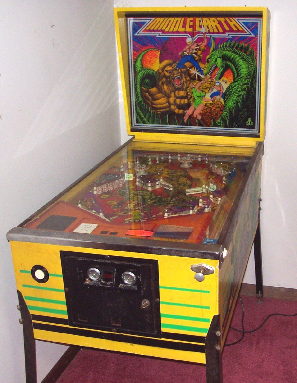 Atari's Middle Earth Pinball (1978) (With images