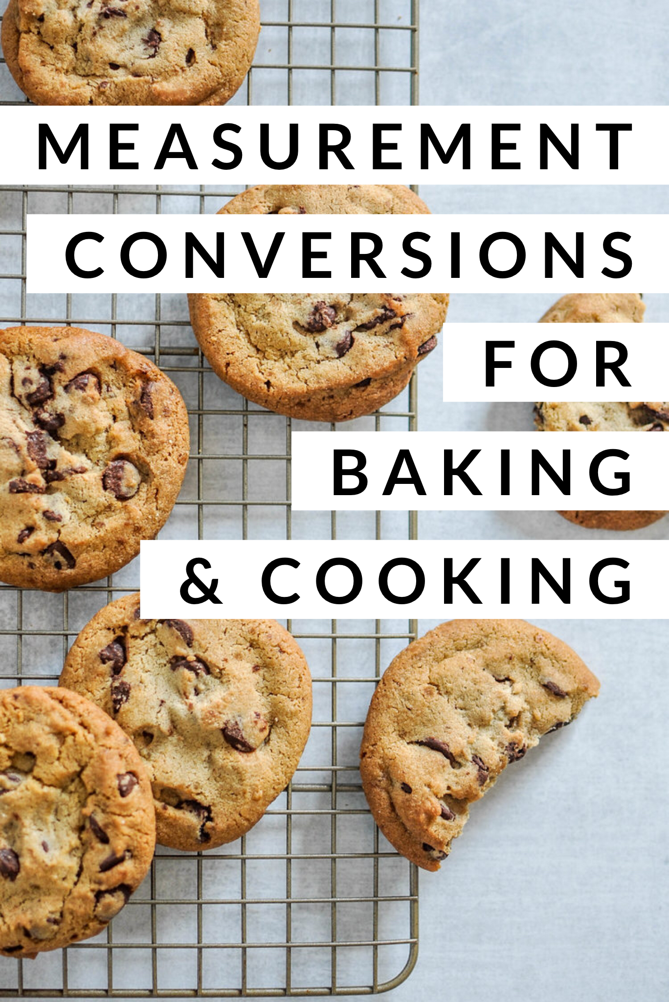 Measurement Conversions For Baking Amp Cooking