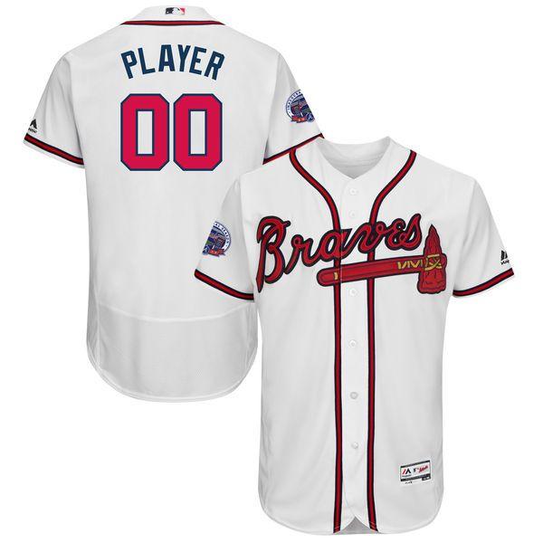 cheap nfl jerseys,nhl jerseys shop,wholesale mlb jerseys,nba jerseys sale  2017 All-Star Patch R. Dickey Atlanta Braves White Flex Base Jersey  All-Star Patch ...
