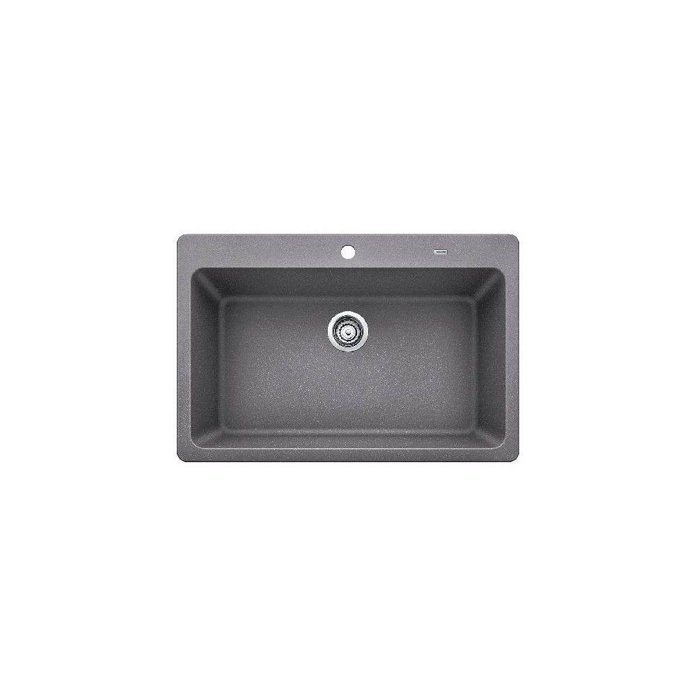 Blanco 442100 Grandis 33 Silgranit Granite Composite Drop In Or