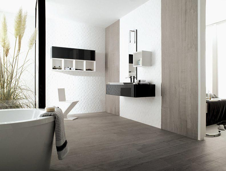 houtlook tegels in badkamer | bathroom | pinterest | showroom and, Badkamer
