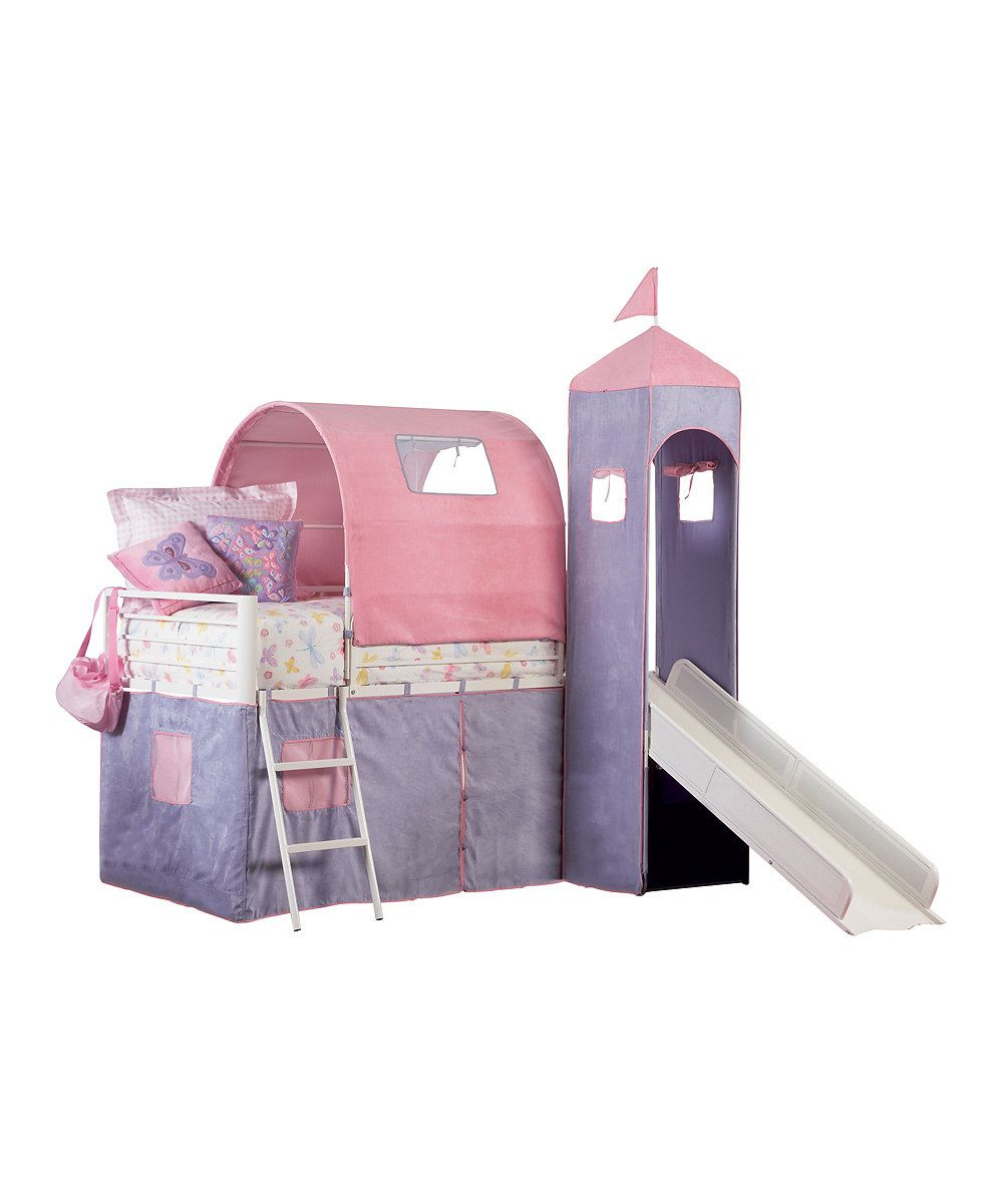 Powell Company Princess Castle Twin Size Tent Bed Slide