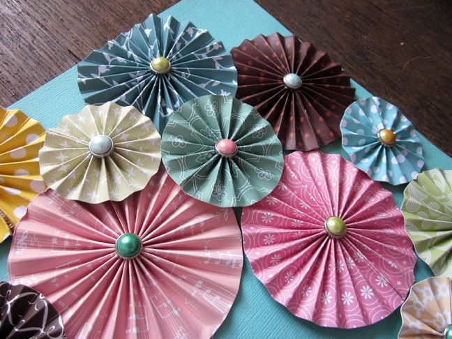 Accordion Paper Flowers Party Ideas Pinterest American Crafts