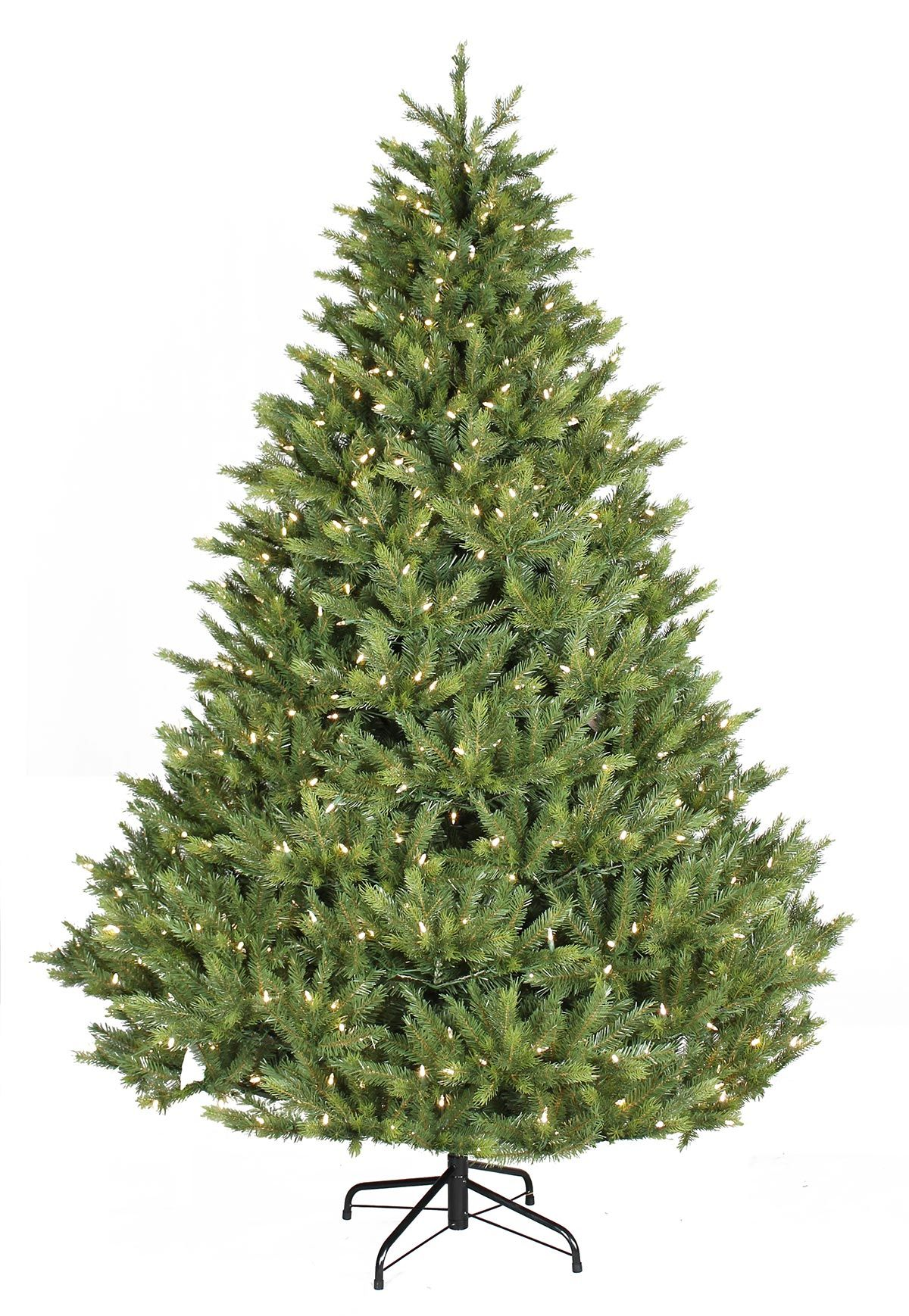 6ft Prelit Grand Fir FeelReal Artificial Christmas Tree