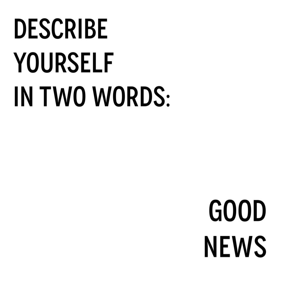 simple words to describe yourself