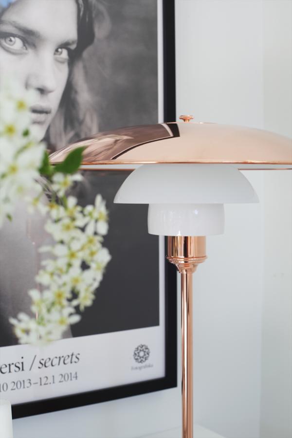Ph 3 2 Kobber Bord Limited Edition Konkurrer Og Vinn En Eksklusiv Lampe Copper Floor Lamp Rose Gold Interior