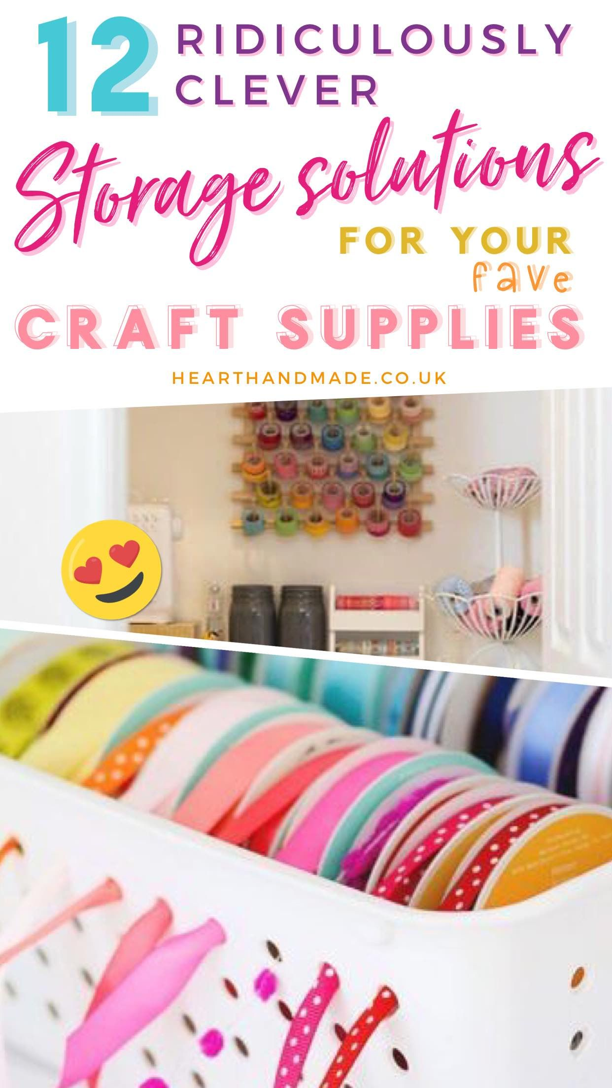 12 Craft Storage Ideas You Will Want To Steal Right Now Craft