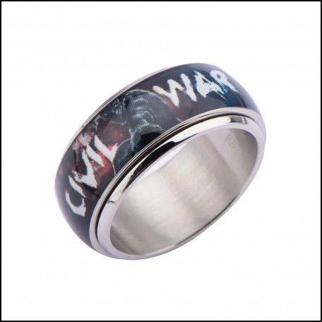 Comic wedding rings