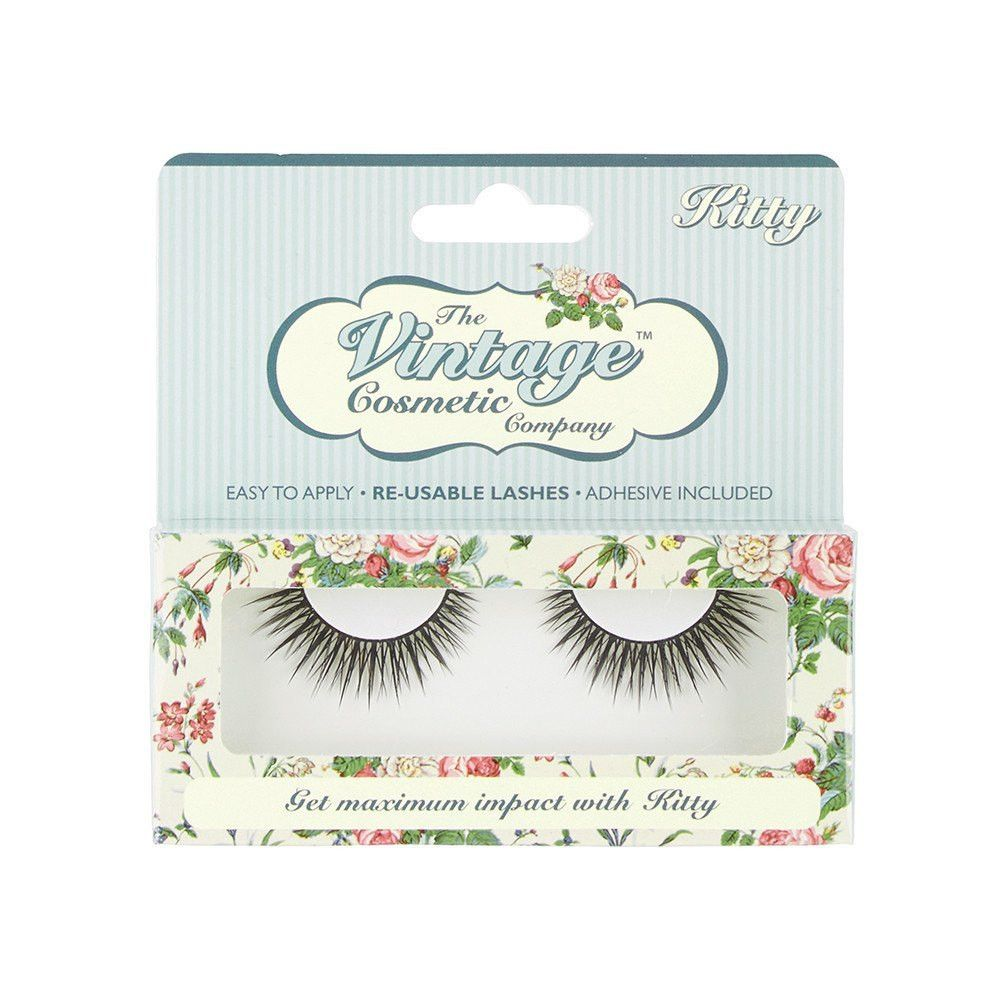 The Vintage Cosmetic Company - The Vintage Cosmetic Company False Lashes - Kitty