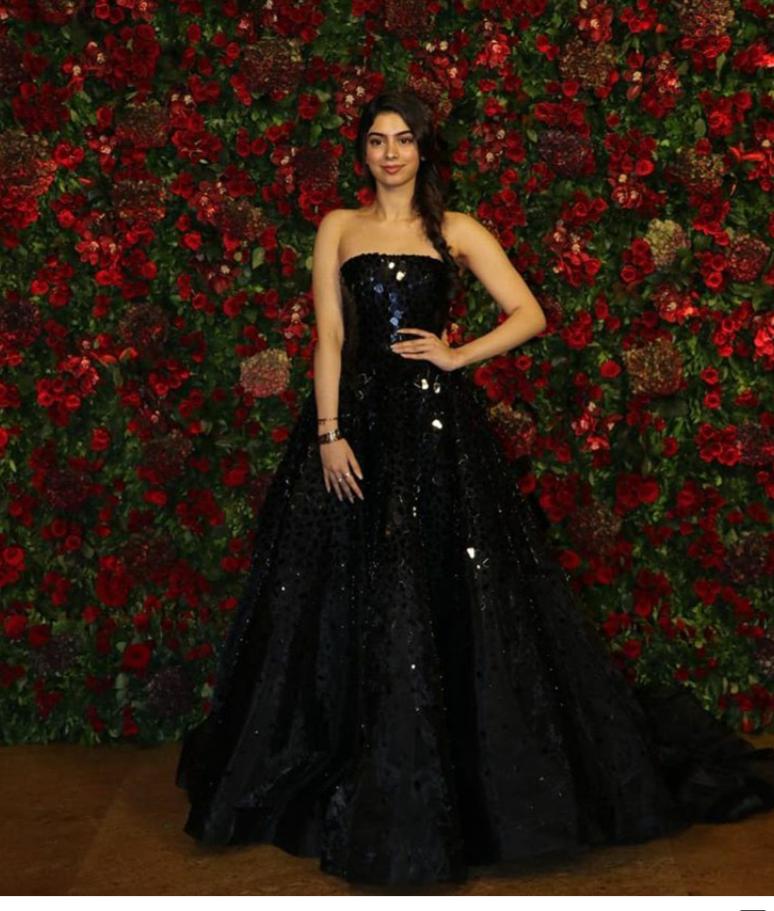 Khushi Kapoor For Deepveer S Wedding Reception