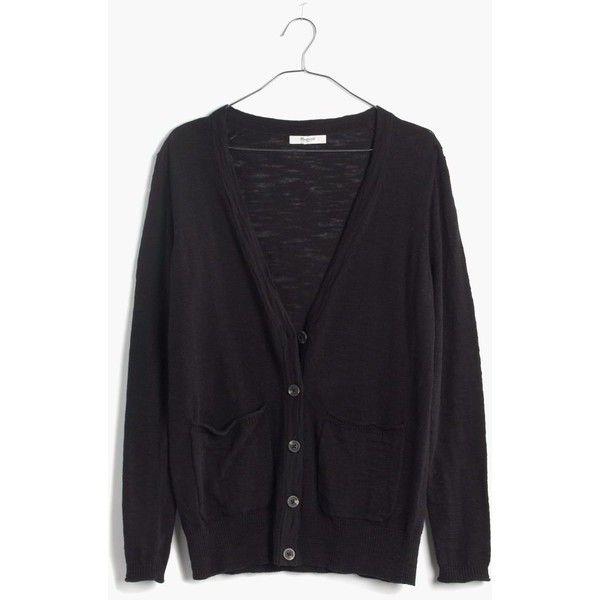 MADEWELL Graduate Cardigan Sweater ($50) ❤ liked on Polyvore ...