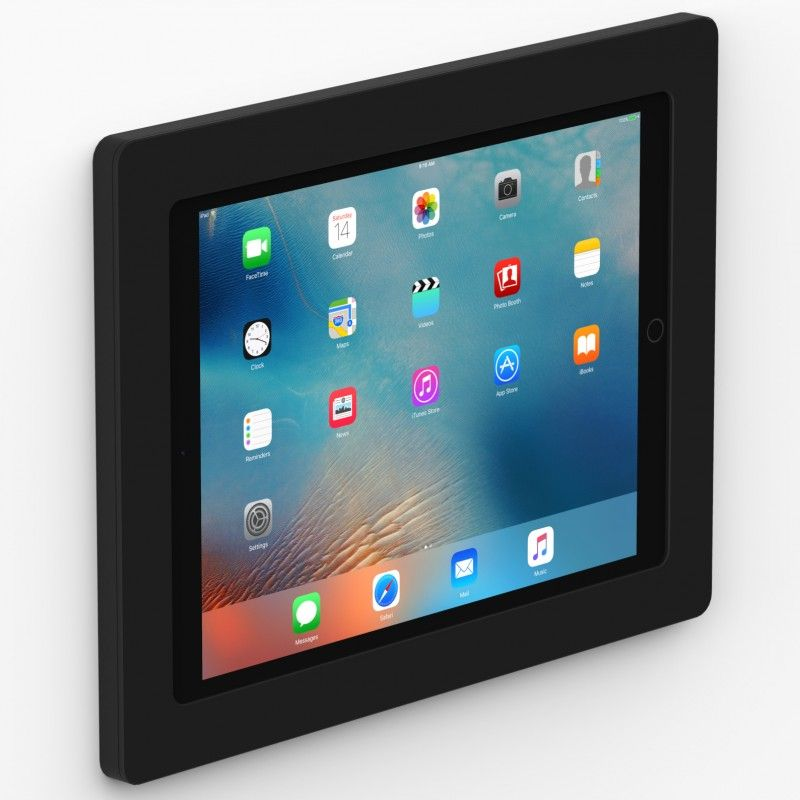Black 12 9 Inch Ipad Pro Vidamount On Wall Tablet Mount Tablet Wall Tablet Tablet Mount