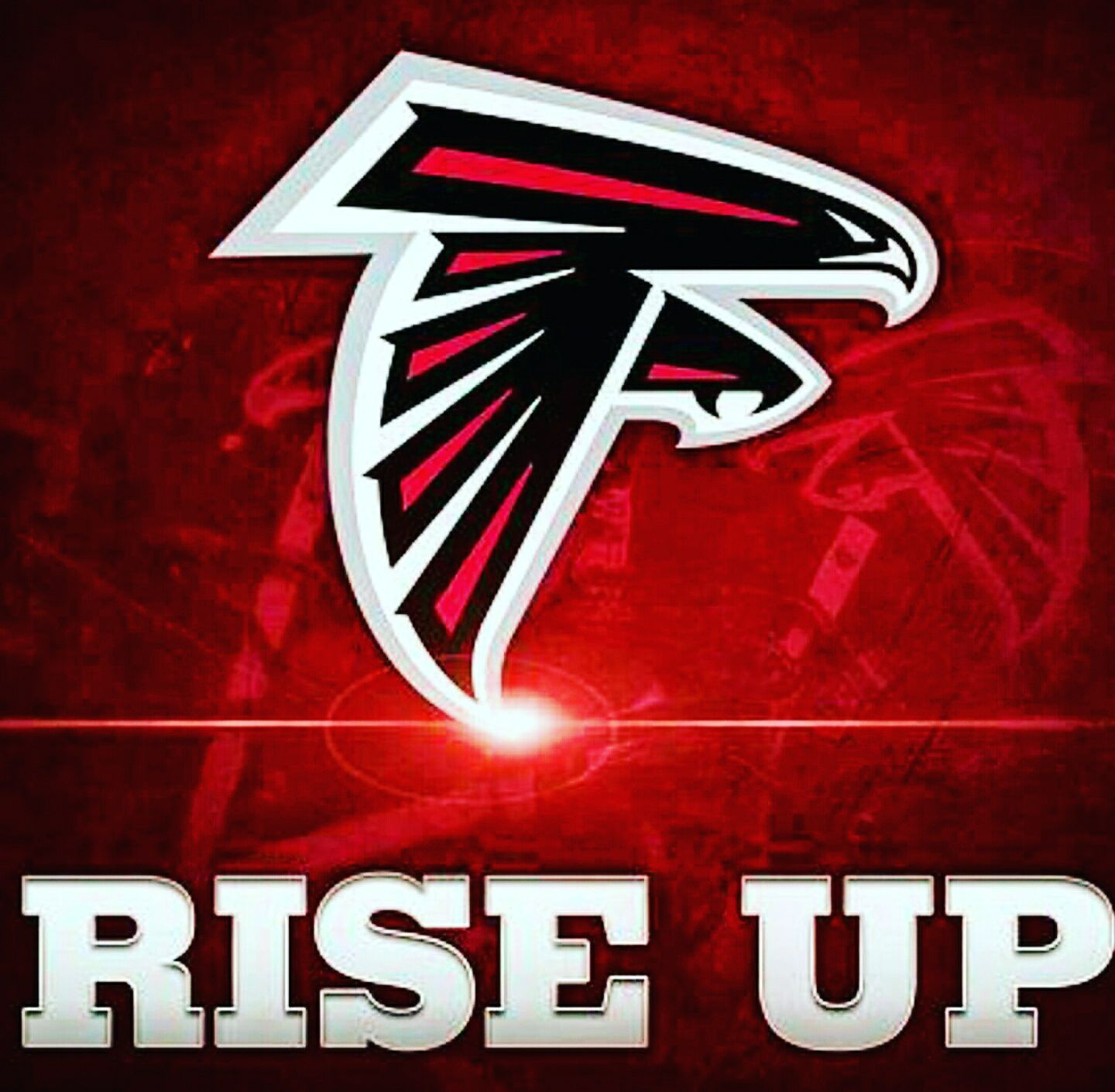 Rise Up Logo Rise Up Atlanta Falcons Superbowl Li Nfc Champions Riseup Atlantafalcons Falcons Superb Atlanta Falcons Logo Atlanta Falcons Falcons Fan