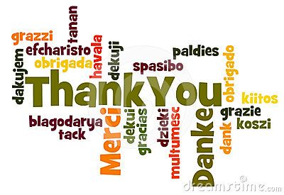 Thank You Word Cloud in different languages | WORDS ...