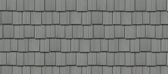 Best Cedar Impressions® Double 9 Staggered Rough Split Shakes Charcoal Gray In 2019 Shingle 400 x 300