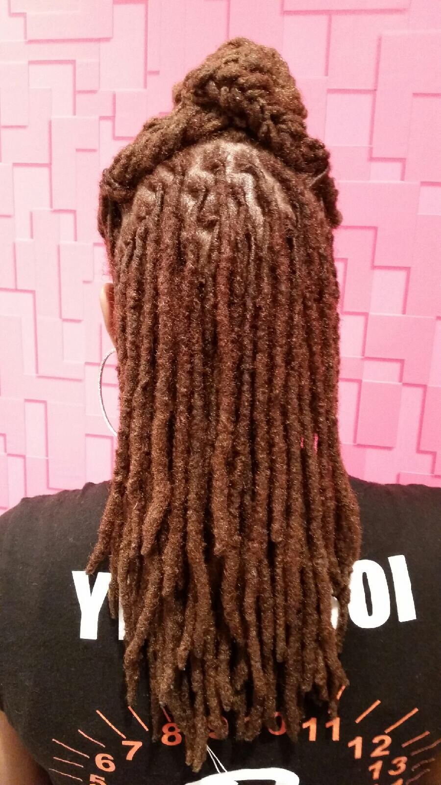 Thick locs … | Natural hair styles, Locs, Dreadlock styles
