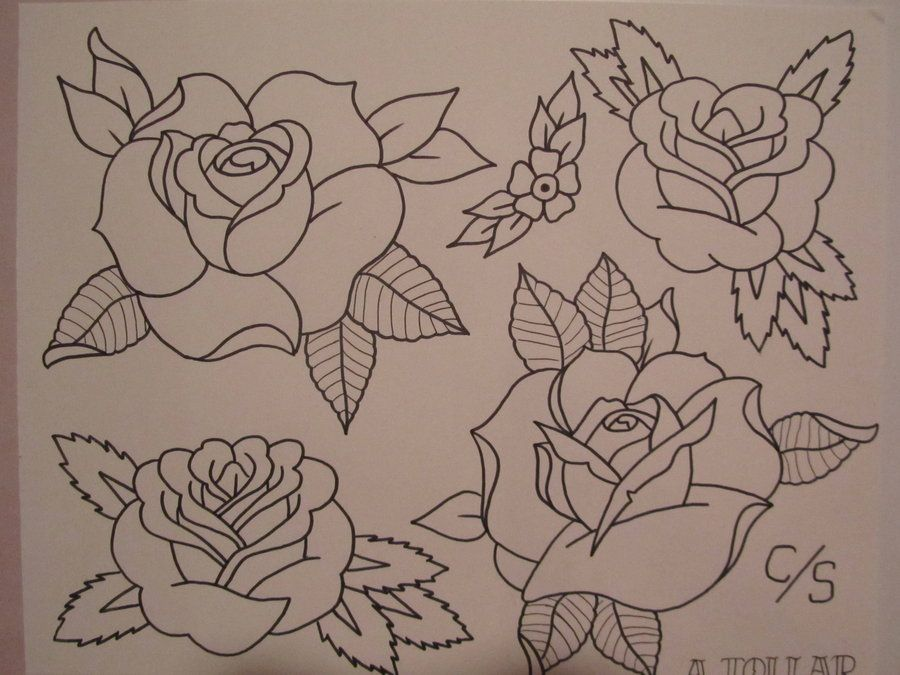 Traditional Flower Line Drawing : Pin by hope smith on tattoo ideas! pinterest