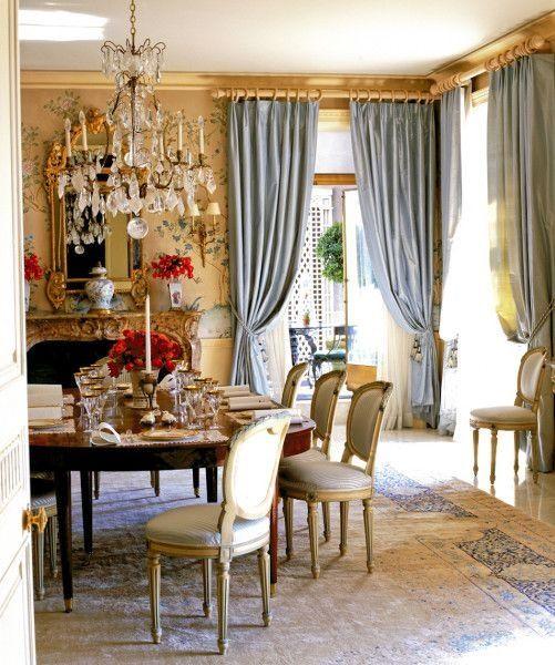 Formal Dining Room Dining Room Curtains Dining Room Design Elegant Dining Room
