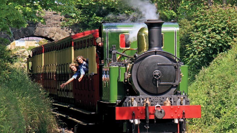 Steam Railway arriving in Castletown in 2020 | Isle of man, Steam railway, Holiday companies