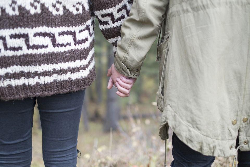 Casal, Amor, Segurando As Mãos, Pessoas, Romance