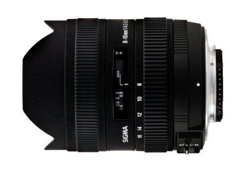Sigma 8 16mm F 4 5 5 6 Dc Hsm Fld Af Ultra Wide Zoom Lens For Aps C Sized Canon Digital Dslr Camera By Sigma For Re Sigma Lenses Dslr Camera Reviews Zoom Lens