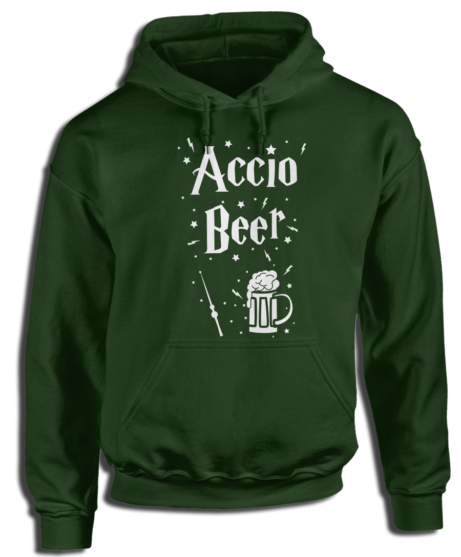 Accio Beer (Green) Witchcraft & Wizardry Hoodie #greenwitchcraft Accio Beer (Green) Witchcraft & Wizardry Hoodie #greenwitchcraft