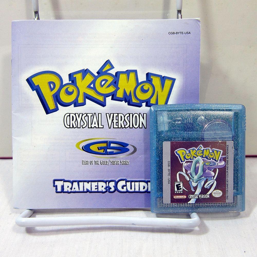 Nintendo game boy color youtube - Ga Gameboy Color Pokemon Youtube Pok Mon Crystal Version Nintendo Game Boy Color 2001 Cartridge
